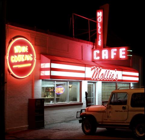 Mollie's Cafe, Snowvillle, Utah | Martin Lee Van Roosendaal II